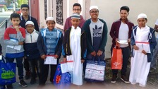 Volunteers share spirit of Ramadan