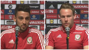 Wales team celebration was over underdog victory, not England's failure, say Taylor and Gunter