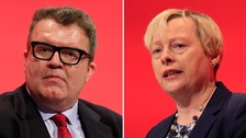 Tom Watson and Angela Eagle