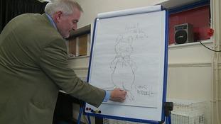 The Children's Laureate Chris Riddell.