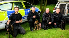 New furry recruits to walk the beat in Northamptonshire