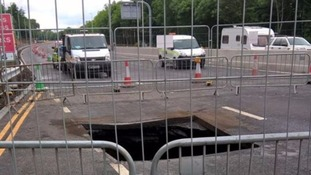 A1 to fully close as sinkhole repairs continue