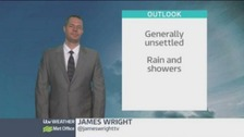 Umbrellas at the ready - showers predicted