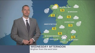 Wales weather: rain continuing for much of the day