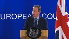 David Cameron: Britain will not turn its back on Europe