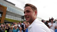 Wimbledon: Brit Marcus Willis to take on Roger Federer