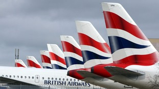 British Airways advised customers to check its website for information.