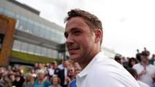Warwick's Marcus Willis to take on Federer