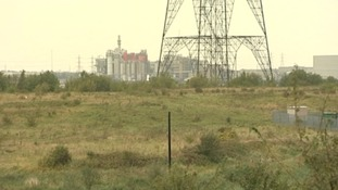 The brown field site covers 872 acres