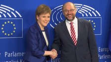 Nicola Sturgeon: Scotland determined to stay in EU