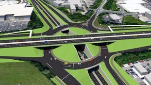 Silverlink roundabout to become 'triple decker' in £75m scheme