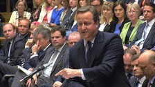 Cameron tells Corbyn: 'For heaven's sake, man, go'