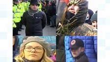 CCTV appeal after rally sparks disorder in Liverpool