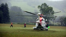 Schoolchildren found safe and well in Brecon Beacons