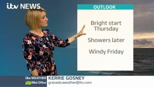 Weather with Kerrie - Brighter start Thursday
