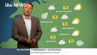 West Midlands Weather: Clearer spells developing tonight