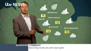 East Midlands Weather: Scattered showers to continue