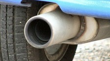 A rise in the number of thefts of catalytic converters