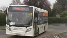 Hospital shuttle bus