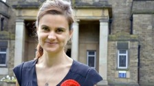 Jo Cox was shot and stabbed outside her constituency surgery.