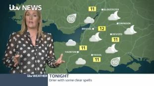 It's clearing up out there but be prepared for more rain