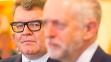Watson tells Corbyn to quit but will not challenge him