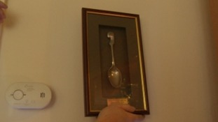 Spoon saved soldier's life during Battle of the Somme