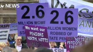 Women 'robbed' of pensions