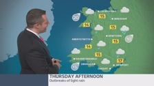 Wales weather: A cloudy start with some rain later