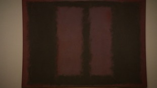 Artwork at the Tate Modern by Mark Rothko