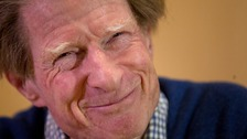 Sir John Gurdon after it was announced he has been awarded the Nobel Prize for Medicine