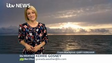 Latest weather for the North West and the Isle of Man