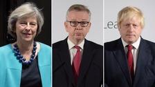 Live updates: Theresa May launches Tory leadership bid