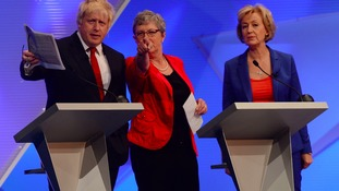 Who is Conservative leadership contender Andrea Leadsom?