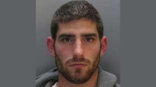 Mug shot of footballer Ched Evans