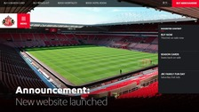A snapshot of the new SAFC website
