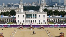 Greenwich Park during the Olympics