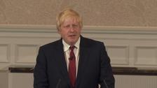 Boris Johnson rules out Conservative leadership bid