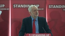 Corbyn says Labour aims to set 'gold standard' for anti-racism