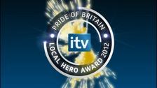 Pride of Britain logo.