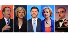 The Conservative Party leadership candidates.