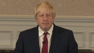 Boris Johnson rules out Conservative leadership bid