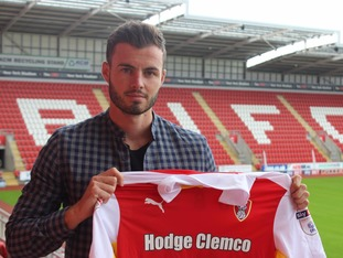 Anthony Forde has joined the Millers on a three-year deal