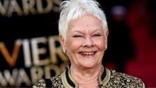 Dame Judi Dench gets first tattoo to mark 81st birthday