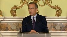 Mr Carney said he UK's economy was 'flexible' and the country could 'handle change'