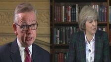 Gove vs May in race to become Prime Minister?