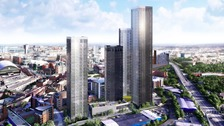 Image of Manchester's tallest building in Owen Street development
