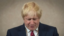 Boris Johnson bows out of Conservative leadership bid
