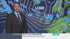 Late weather update with James Wright