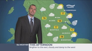 Morning weather update with James Wright